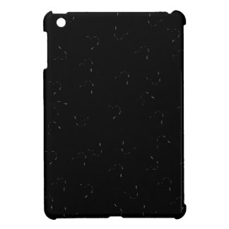 Black Blending Mini Hearts iPad Mini Cover