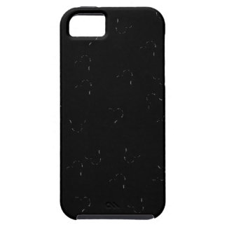Black Blending Mini Hearts iPhone 5 Cases