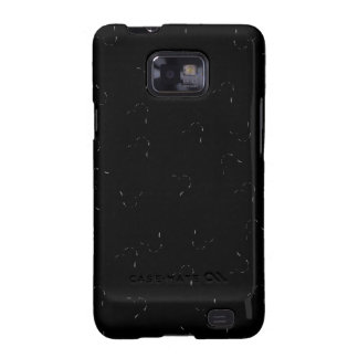 Black Blending Mini Hearts Samsung Galaxy SII Case