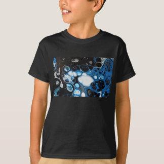 Black & Blue Bubbles T-Shirt