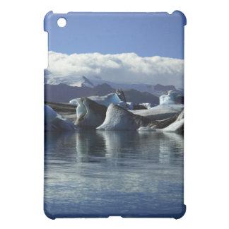Black & Blue Icebergs, Iceland iPad Mini Cases