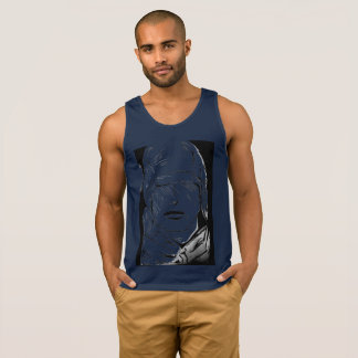 Black & Blue Iron Man Tank Top