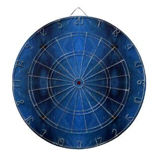 Black Blue Personalizable Pattern For Guys Dartboard