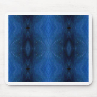 Black Blue Personalizable Pattern For Guys Mouse Pad