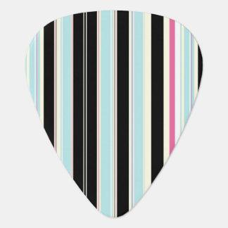 Black Blue White Pink Vertical Stripe Pattern Pick