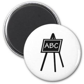 Black board magnet