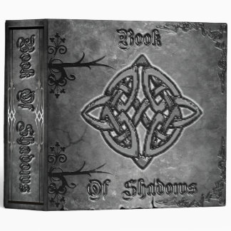 Black Book of Shadows Vinyl Binders