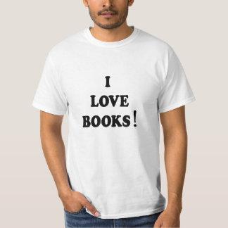 """Black Books """"I Love Books"""" T-shirt"""