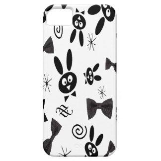 BLACK BOW BUNNY iPhone 5/5S CASE