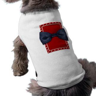 Black Bowtie Dog T-shirt