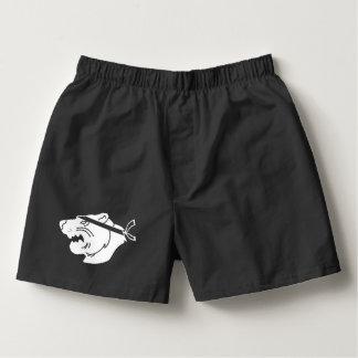 Black boxers with white NinjaBear logo