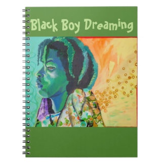 Black Boy Dreaming Notebook