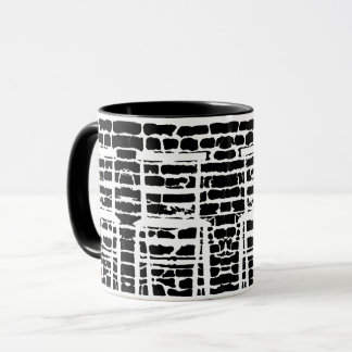 Black Brick Mug