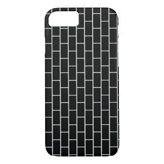 Black Bricks iPhone 7 Case