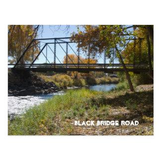 Black Bridge Road, Paonia, CO Postcard