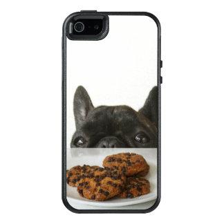 Black Brindle French Bulldog OtterBox iPhone 5/5s/SE Case