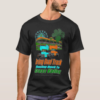 Black,Bring Oval Track Racing Back to Grass Valley T-Shirt