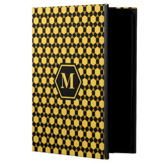 Black Brown and Yellow STH iPad Case