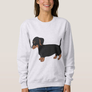 Black & Brown Dachshund Women's Sweatshirt