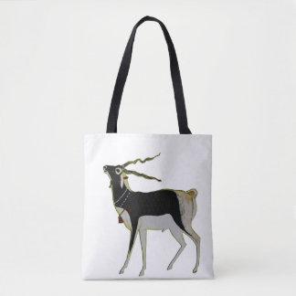 Black Buck Tote Bag