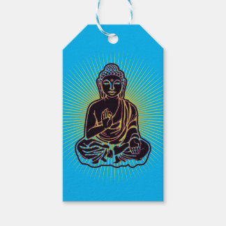 Black Buddha Power Pack Of Gift Tags