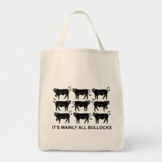 BLACK BULLOCKS (BAG) TOTE BAG