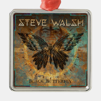 Black Butterfly Ornament