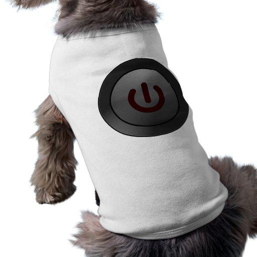 Black Button - On Symbol Pet Tee