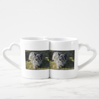 Black Cairn Terrier Coffee Mug Set