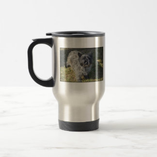 Black Cairn Terrier Travel Mug