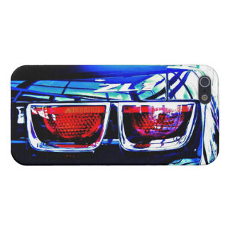Black Camaro ZL1 Tail lights up close Case For iPhone 5/5S