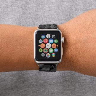 Black Camo Apple Watch Band