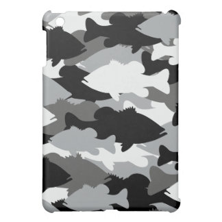 Black Camo Bass Fishing Case For The iPad Mini