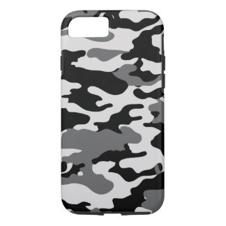Black Camo iPhone 8/7 Case