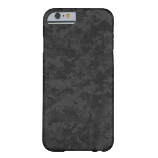 black camouflage barely there iPhone 6 case