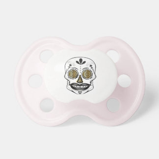 Black Candy Skull Pacifier