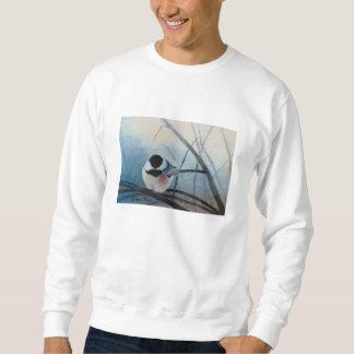 Black Capped Chickadee Adult Sweatshirt