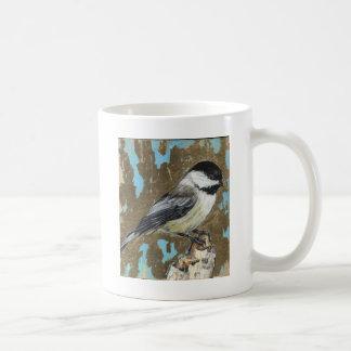 Black capped Chickadee Coffee Mug