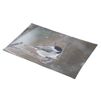 Black-capped Chickadee - Songbird Place Mats