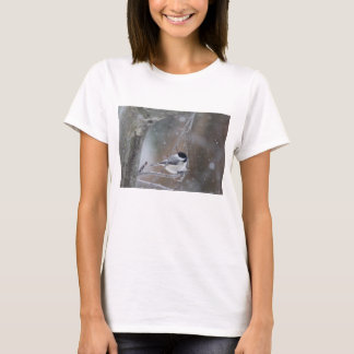Black-capped Chickadee - Songbird T-Shirt