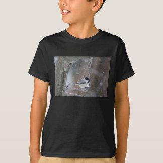Black-capped Chickadee - Songbird T-Shirt