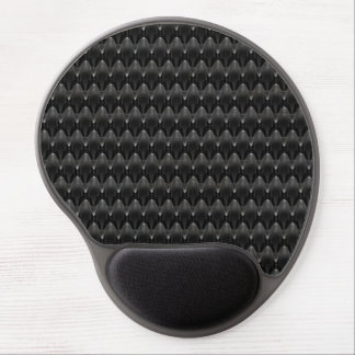 Black Carbon Fiber Alien Skin Gel Mouse Pad