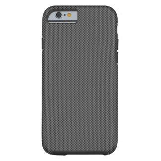 Black Carbon Fibre Base Tough iPhone 6 Case