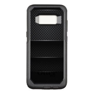 Black Carbon Mesh - OtterBox Commuter Samsung Galaxy S8 Case