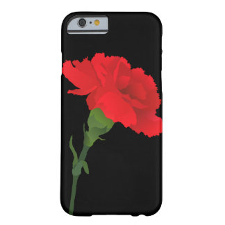 Black Carnation Phone Case