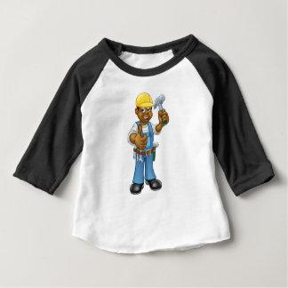 Black Carpenter Handyman Baby T-Shirt
