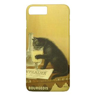 Black Cat Absinthe Bourgeois Art Nouveau Vintage iPhone 7 Plus Case