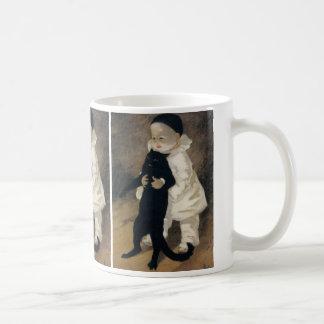 """Black Cat and Baby"" Coffee Mug"
