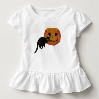Black Cat And Jack o Lantern Shirts