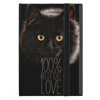 Black Cat and Name Cat Lover Cover For iPad Mini